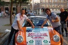 Montini, campione italiano al rally Lana 2015