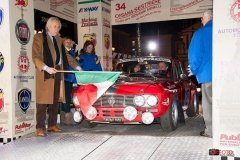 La partenza del Rally Storico di Montecarlo 2015