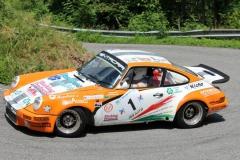Porsche del campione Montini al Lana 2015
