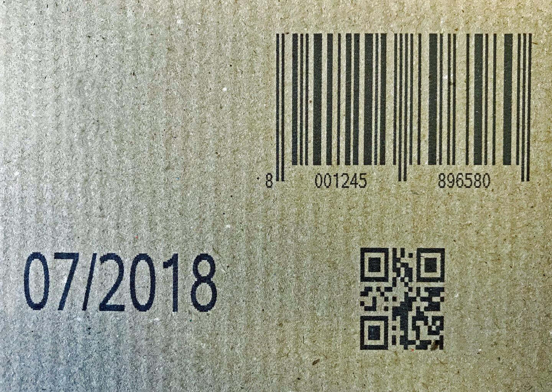 marcatura QR code e codice a barre con marcatore getto di inchiostro MPERIA VIAjet Serie T