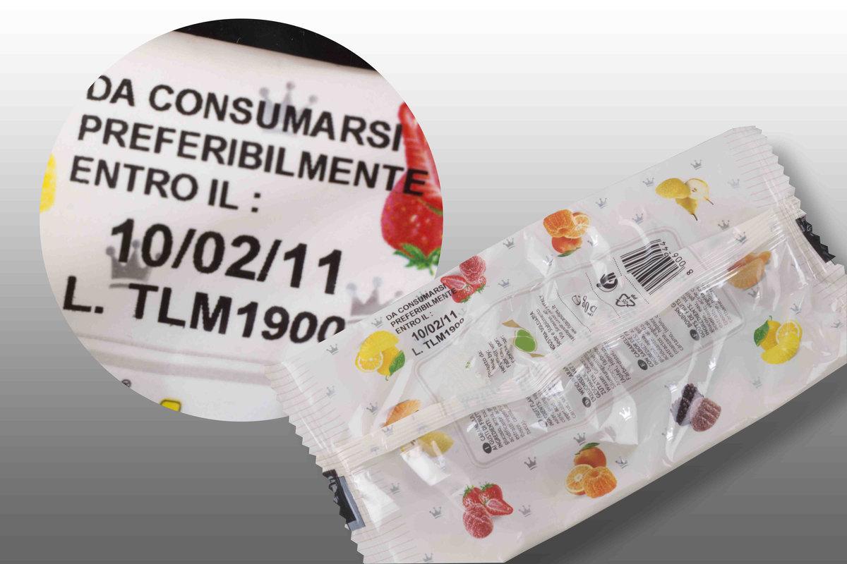 Confezione Caramelle - Coditherm - Trasferimento Termico Diretto