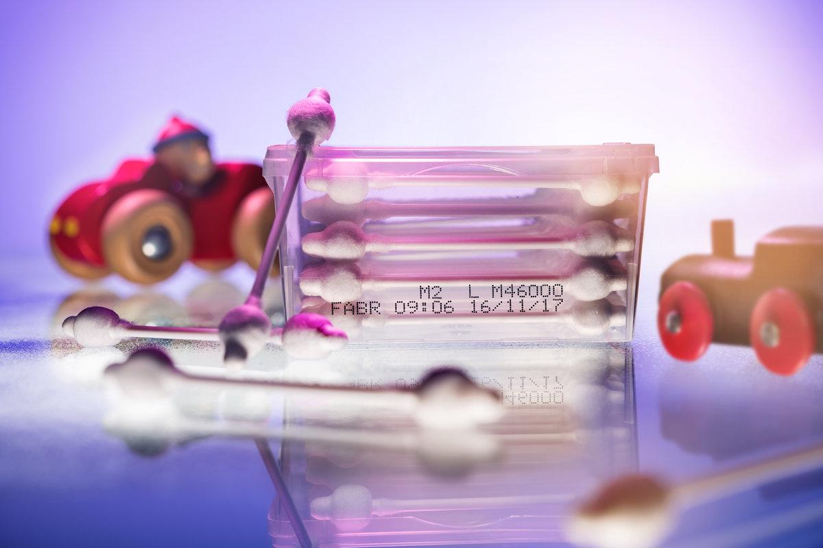 Confezione Cotton Fioc - Hitachi Ux E160W - Getto D'inchiostro Continuo