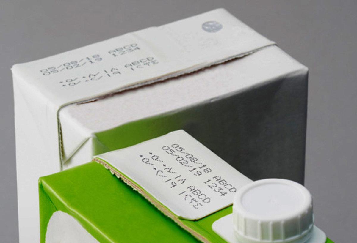 Latte Di Soia - Hitachi Ux D860W Twin Nozzle - Getto D'inchiostro Continuo