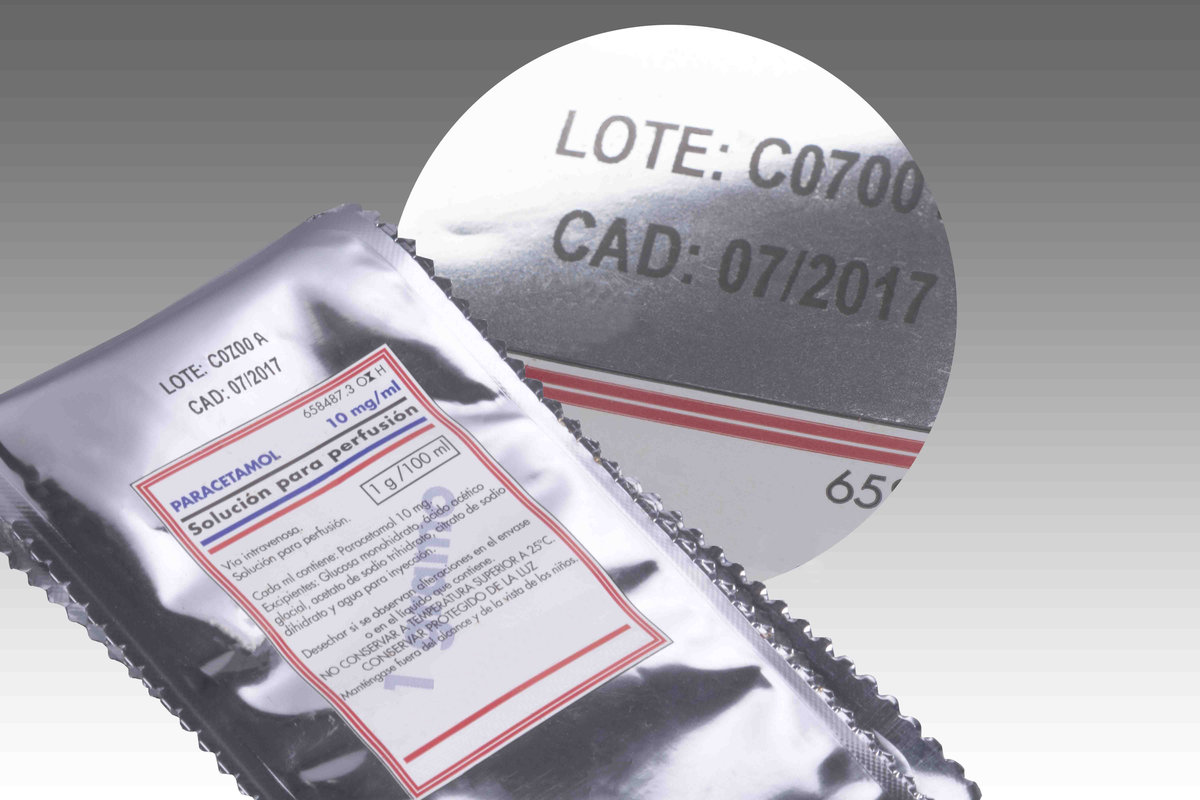 Stampa Su Confezione Farmaceutica Con Quick - Trasferimento Termico Diretto